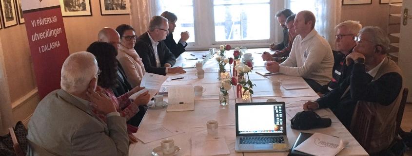 Presskonferensen Tankesmedjan Dalarnas Framtid